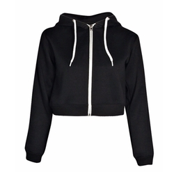 Lorraine Crop Hoody by Boohoo in Teen Wolf