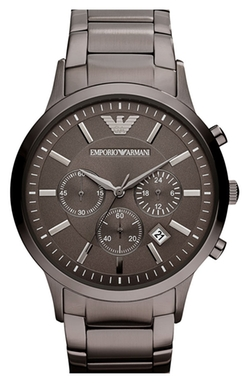 Stainless Steel Bracelet Watch by Emporio Armani in Ballers
