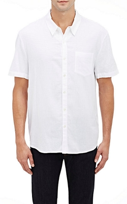 Short-Sleeve Shirt by James Perse in Triple 9