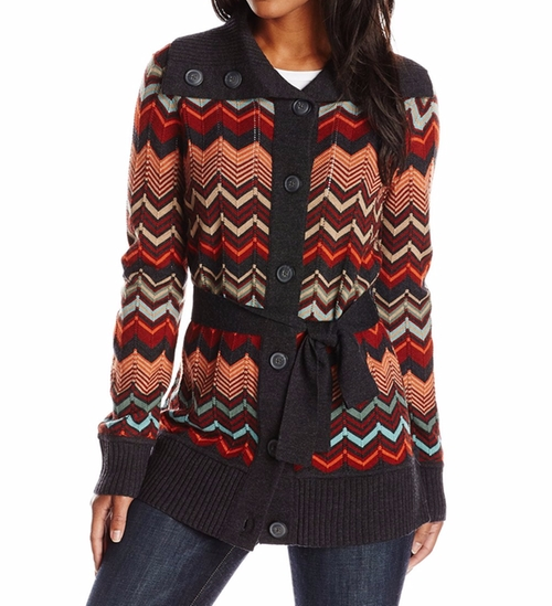 Autumn Days Cardigan Sweater by Pendleton in Love, Rosie