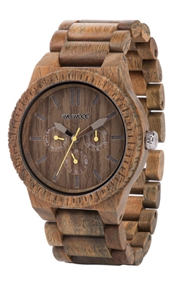 Kappa Army Wooden Watch by WeWood in Empire