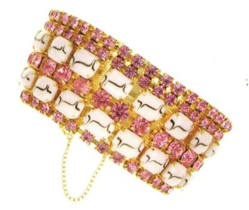 Selected By Patricia Field (Costume Designer) by Vintage Seedhouse Bead Cuff Bracelet in Sex and the City 2