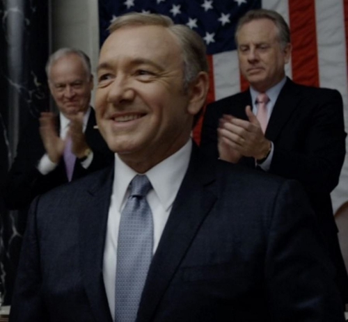 Made To Measure Suit by Hugo Boss   in House of Cards - Season 4 Episode 2