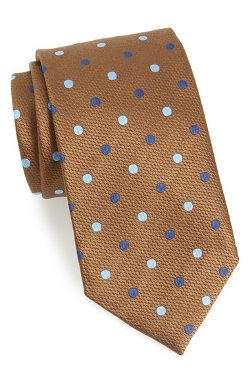 Silk Dot Tie by David Donahue in Fight Club