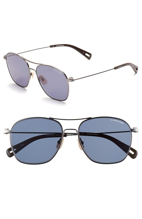 'Radcord' 56mm Sunglasses  by G-Star Raw in Scarface