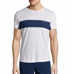 Chest-Stripe Short-Sleeve T-Shirt by Orlebar Brown in Empire