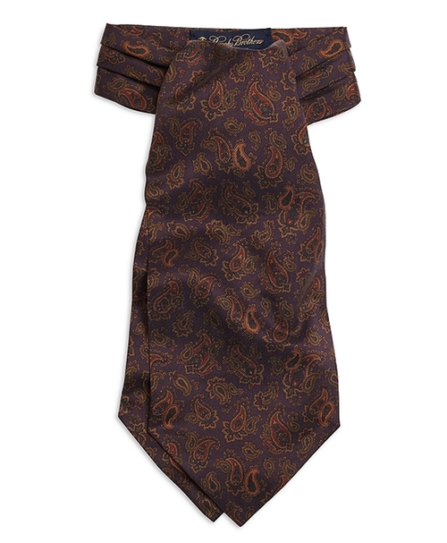 Ancient Madder Ascot by Brooks Brothers in Victor Frankenstein