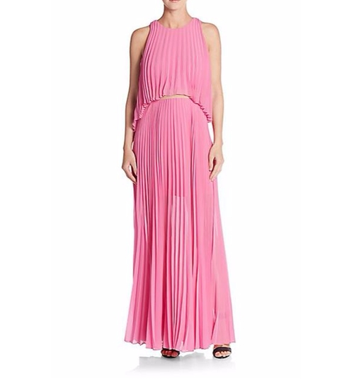 Shaina Accordion Pleated Dress by BCBGMAXAZRIA in Love, Rosie