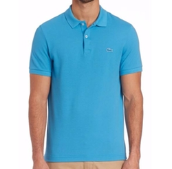 Tonal Croc Polo Shirt by Lacoste in Ballers
