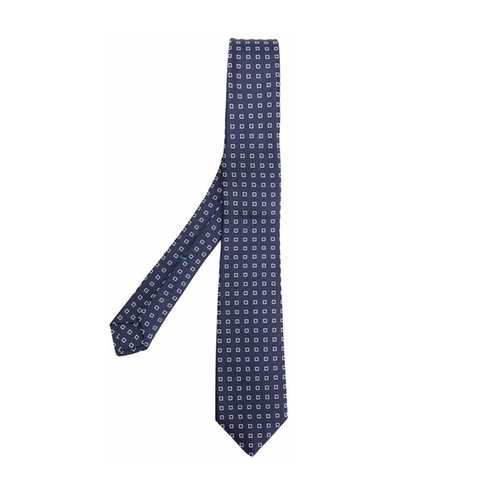 Jacquard Pattern Tie by Borrelli in Jason Bourne