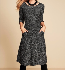 Fancy Tweed Dress by Talbots in New Girl