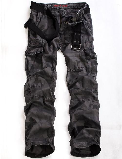 Men's Camo Military Cargo Pants #6512M by Match in Captain America: The Winter Soldier