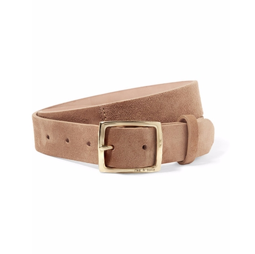 Boyfriend Suede Belt by Rag & Bone in The Bachelorette - Season 12 Episode 7