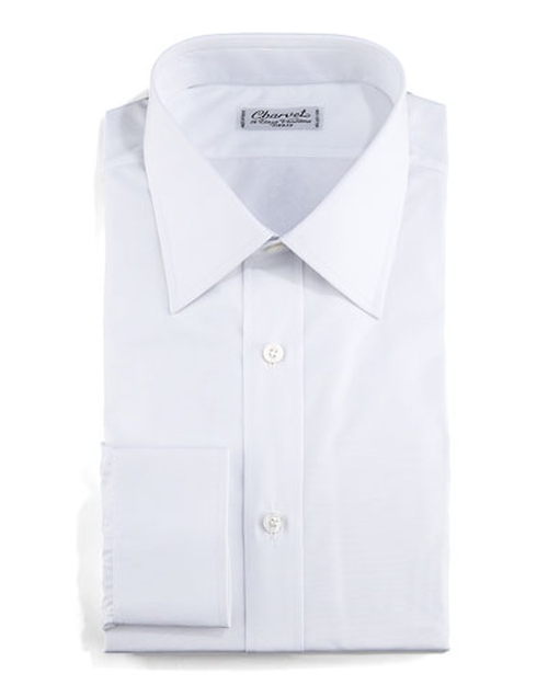 Poplin Dress Shirt by Charvet	 in Demolition