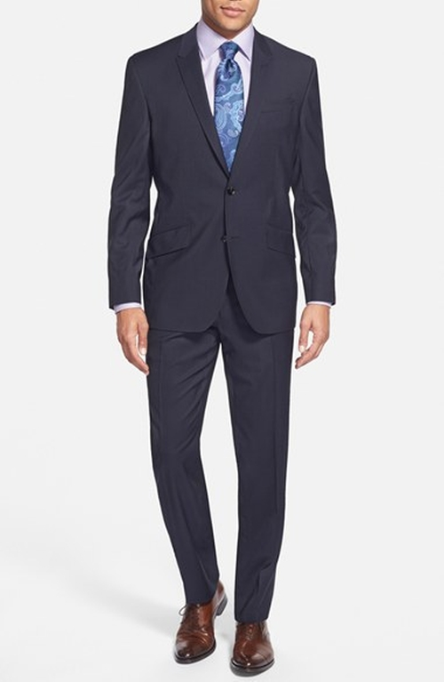 'John' Trim Fit Wool Suit by Ted Baker London in Wedding Crashers