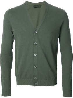 Classic V-Neck Cardigan by Zanone in If I Stay