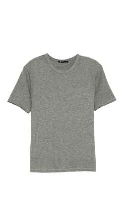Classic Short Sleeve Tee by T by Alexander Wang in The Other Woman
