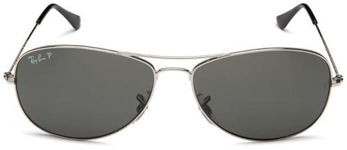 RB3362 Silver Sunglasses by Ray-Ban in Pain & Gain