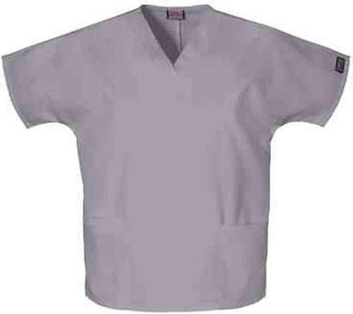 Workwear Women's V-neck 2-pocket Scrub Top by Cherokee in No Strings Attached