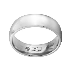 Wedding Band by STI by Spectore Titanium in The Overnight