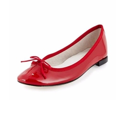 Cendrillon Patent Ballet Flats by Repetto in New Girl
