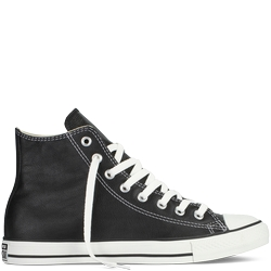Chuck Taylor All Star Leather Sneakers by Converse in Arrow