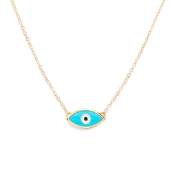 Evil Eye Necklace by Mejuri in Keeping Up With The Kardashians