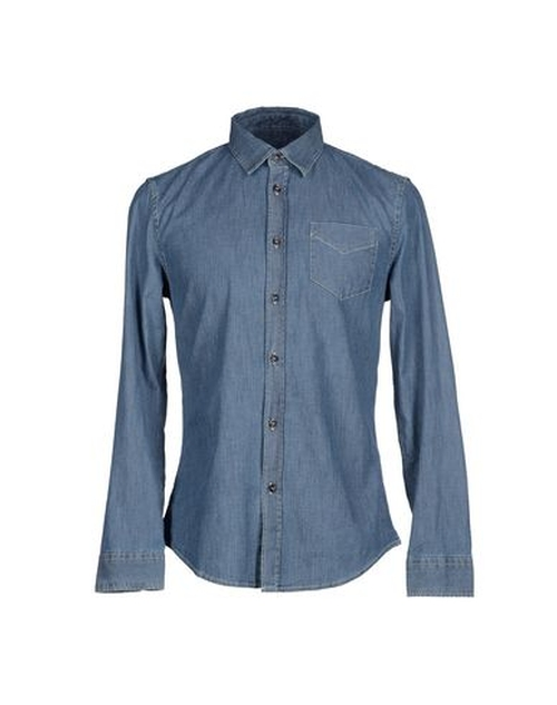 Denim Shirt by Bikkembergs in GoldenEye