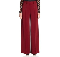 Hayden Pintuck Trousers by Milly in New Girl