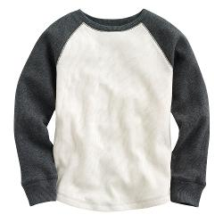 Raglan Thermal Tee by Jumping Beans in And So It Goes
