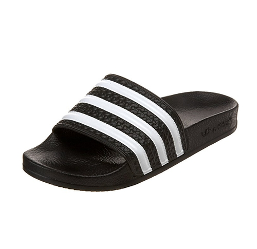 Adilette Slide Sandals by Adidas in Keeping Up With The Kardashians - Season 12 Episode 20