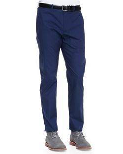 Poplin Suit Pants by THEORY in Dawn of the Planet of the Apes