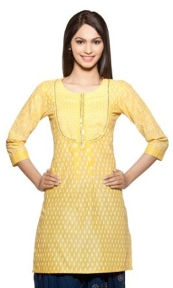 Womens Indian Ethnic Kurta Tunic by Rangmanch in The Second Best Exotic Marigold Hotel