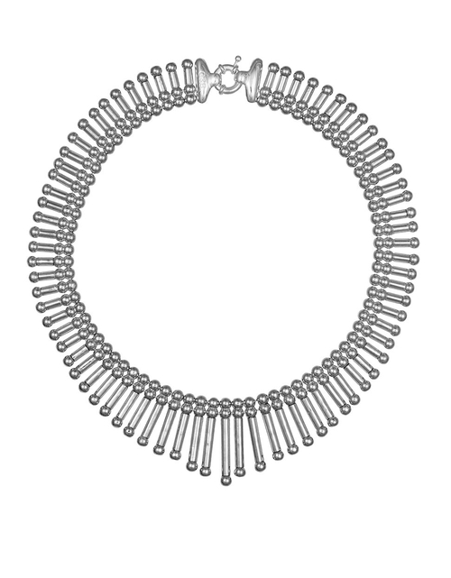 Fringe Collar Necklace by Giles and Brother in Pretty Little Liars - Season 6 Episode 4