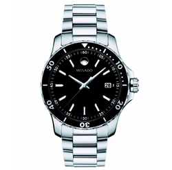 Stainless Steel & Aluminum Bracelet Watch by Movado in Billions