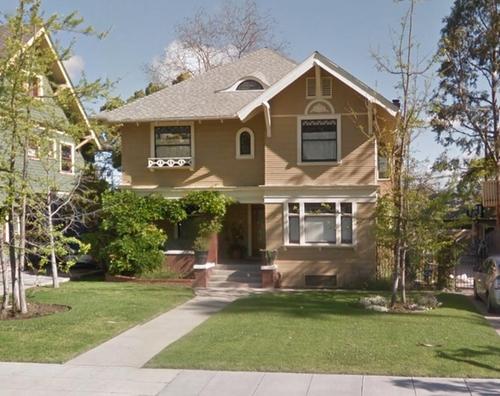 2179 West 20th Street (Depicted as Radner Residence) Los Angeles, California in Neighbors 2: Sorority Rising