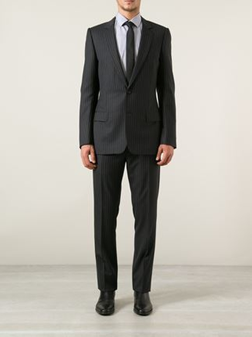 Pinstripe Suit by Dior Homme in Demolition