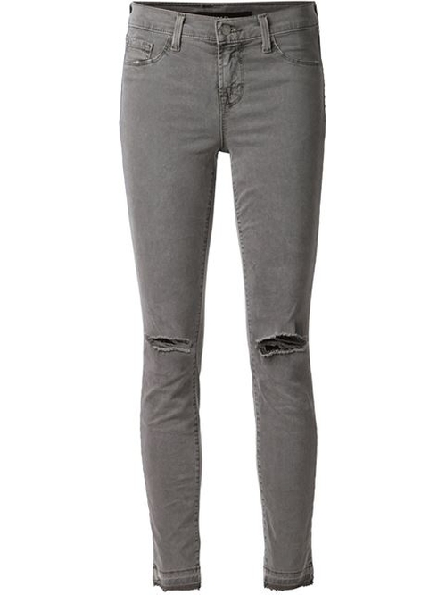 Distressed Skinny Jeans by J Brand in Pretty Little Liars