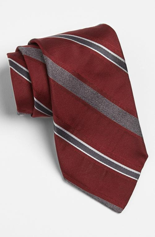 Woven Silk Blend Tie by Michael Kors in Jersey Boys