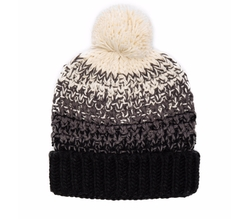 Seeded Ombre Beanie by Michael Stars in Keeping Up With The Kardashians