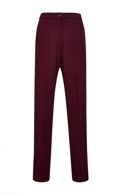 Samu Wool Georgette Trousers by Perret Schaad in Supergirl - Season 1 Episode 13