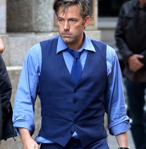 Custom Made Blue Vest by Gucci in Batman v Superman: Dawn of Justice