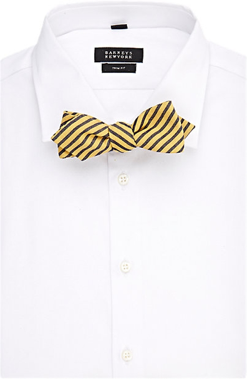 Oxford Cloth Bow Tie by Alexander Olch in Steve Jobs