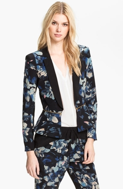 'Hawaii' Silk Jacket by Rebecca Taylor in Pretty Little Liars