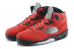 Air Jordan 5 Retro Suede Sneakers by Nike in Ballers
