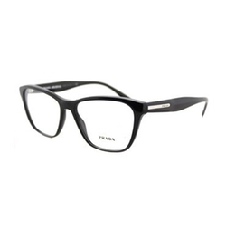 Square Plastic Eyeglasses by Prada in Molly's Game