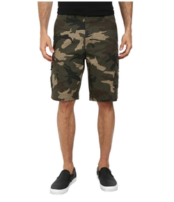 Slambozo Cargo Camo Shorts by Fox in Ballers