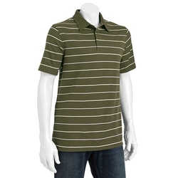 Striped Easy-Care Performance Polo by Croft & Barrow in The Boy Next Door