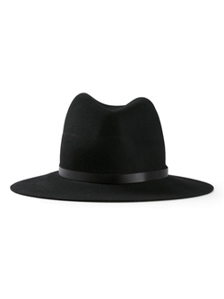 Fedora Hat by Rag & Bone in Rosewood