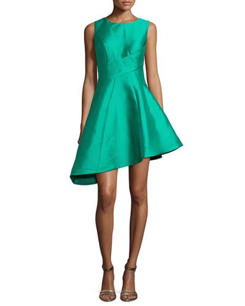Sleeveless Asymmetric Cocktail Dress by Jovani in Scream Queens - Season 1 Episode 13